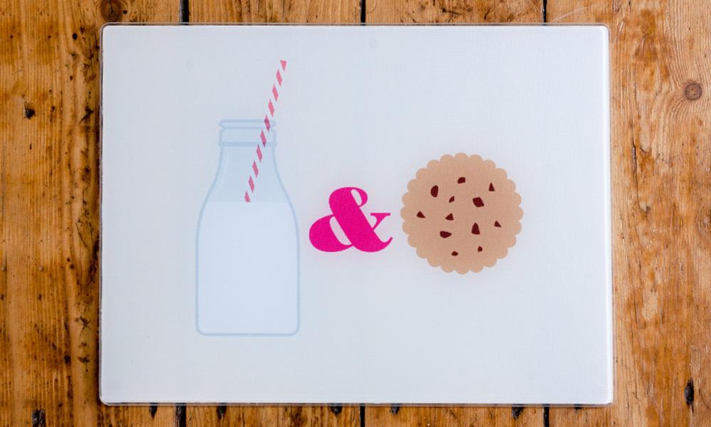 Joseph Joseph Milk and Cookies Worktop Saver